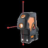 Geo-Fennel Geo3P önbeálló pontlézer