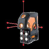 Geo5P önbeálló pontlézer