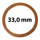 33 mm belsőátmérő