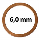 6 mm belsőátmérő