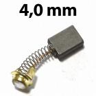 4,0 mm vastag szénkefe