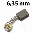 6,35 mm vastag szénkefe