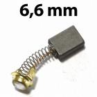 6,6 mm vastag szénkefe