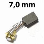 7,0 mm vastag szénkefe