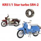 Simson Schwalbe KR51/1  és Star turbo SR4-2csapágyak