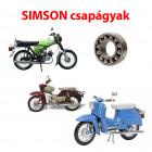 Simson motorkerékpár csapágyak