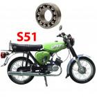 Simson S51 csapágyak