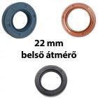 22 mm-es belső átmérőjű szimering