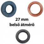 27 mm-es belső átmérőjű szimering