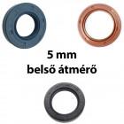 5 mm-es belső átmérőjű szimering