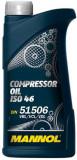 MANNOL dugattyús kompresszor olaj ISO46 1L