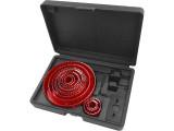 Extol Premium körkivágó készlet, 17 db-os, (19-22-25-32-38-44-51- 60-67-73-82-102-127mm) (8801605)