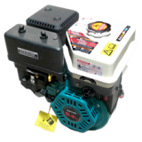 EXTOL benzinmotor vízszintes főtengellyel; 196 cm3, 4-ütemű, léghűtéses, OHV, 6,5 LE/4000 ford/perc, kúpos tengelyvég, V-típus