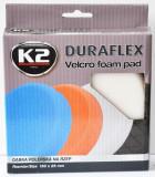 K2 K2PRO DURAFLEX tépőzáras polírkorong - fehér