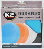 K2 K2PRO DURAFLEX tépőzáras polírkorong - kék