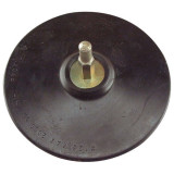 EXTOL gumitányér fúrógéphez; 125mm tépőzáras