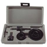 EXTOL körkivágó klt. fához (műanyag dobozban) ; 11db, mélység: 25mm, 20-65mm