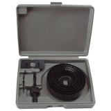 EXTOL körkivágó klt. fához (műanyag dobozban) ; 8db, mélység: 25mm, 65-130mm