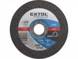 Extol Premium vágókorong acélhoz, kék; 125×2,5×22,2mm, max 12200 ford/perc, 8808122