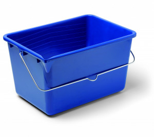 NIMBA BOX műanyag festékes vödör, szögletes, 12 literes termék fő termékképe