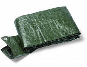 TERRA S90 védőponyva, 90 g/m2, zöld, 6x8 m termék fő termékképe