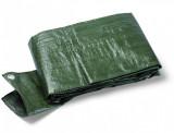 Schuller TERRA S90 védőponyva, 90 g/m2, zöld, 8x10 m
