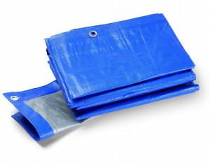 TERRA S180 védőponyva, 180 g/m2, kék, 5x6 m termék fő termékképe