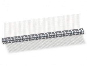 CORNER PVC hálós élvédő, 10x10 cm, 2.5 m termék fő termékképe