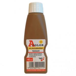 Schuller A-COLOR szintetikus, szerves színező, 40 ml, világosbarna termék fő termékképe