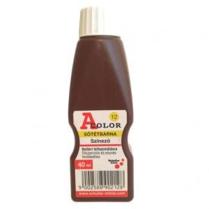 Schuller A-COLOR szintetikus, szerves színező, 40 ml, sötétbarna termék fő termékképe
