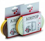 Schuller AIRSTOP E öntapadó gumi tömítőszalag, 1-3.5 mm résmérethez, 6 m
