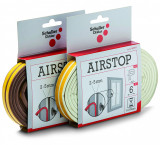 Schuller AIRSTOP P öntapadó gumi tömítőszalag, 2-5 mm résmérethez, 6 m