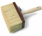 Schuller ARON LITE festőkefe kevert sörtével, műanyag testtel és fa nyéllel, 140 x 40 mm