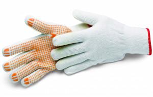 Schuller COTTONSTAR GRIP pamutkesztyű tenyéroldalon pettyekkel, 8/M termék fő termékképe