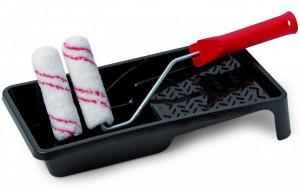 Schuller MICROLINE HK-R SET fűtőtest henger szett (2 db henger 100 mm / 17 mm / 9 mm + nyél + festékedény) termék fő termékképe