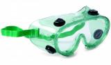 Schuller TOPVIEW polikarbonát védőszemüveg kémiai anyagok és por ellen