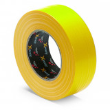 Schuller X-WAY STRONG nehezen szakadó, vízálló építményszalag, sárga, 44 mm x 50 m