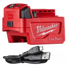 Milwaukee ONE-KEY™ 18V-os Li-ion akkus adapterek