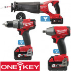Milwaukee ONE-KEY™ 18V-os Li-ion akkus kisgépek
