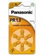 PANASONIC Cink-levegő elemek (hallókészülékekhez)