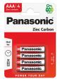 PANASONIC RED ZINC féltartós elemek
