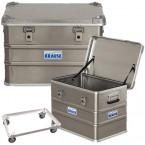Krause alumínium dobozok és alátétkocsik
