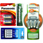 Akciós Panasonic, Maxell, Fujitsu és egyéb elemek, akkuk, töltők