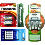 Panasonic, Maxell, Fujitsu és egyéb elemek, akkuk, töltők