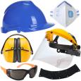 Portwest, Sir Safety System és 3M fej-, szem-, fül-, légzésvédelem