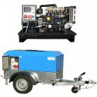 Áramfejlesztők KOHLER vízhűtéses dízelmotorral