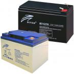 Ritar, Panasonic, Vision zárt ólomakkumulátorok és töltők