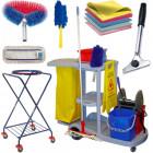 Takarítóeszközök, higiéniai adagolók