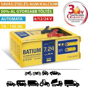 GYS BATIUM 7/24 automata akkumulátor töltő termék fő termékképe
