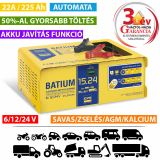 GYS BATIUM 15/24 automata akkumulátor töltő